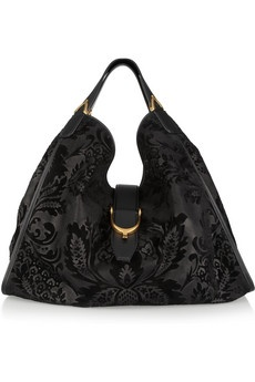 love this...Gucci suede tote