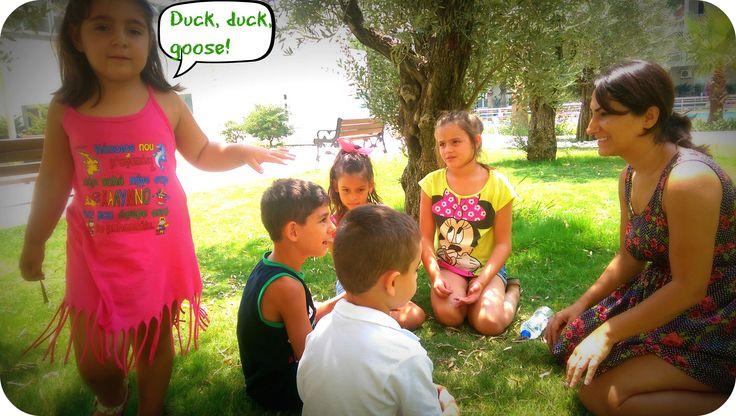 Duck, duck, goose...#CME4K Sadece çocuklar (Okul Oncesi - Ilkokul - Ortaokul) için İngilizce dil kursu İzmir