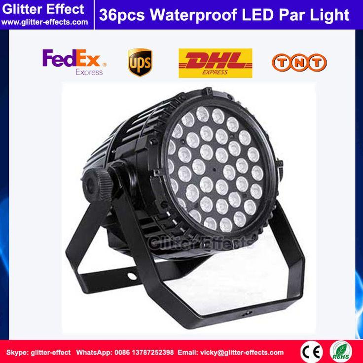 36pcs 3W led par light DJ Disco club RGB color led par light Dj Effect Light Sta…
