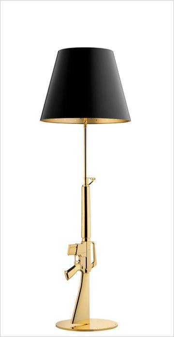 Flos lounge GUN floor lamp, stander lampe, gulv lampe