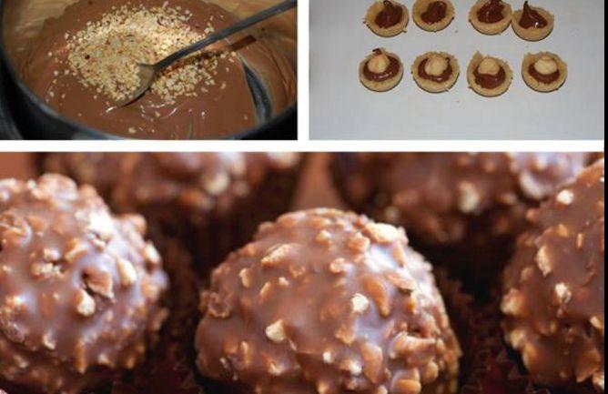 Come fare in casa i golosissimi cioccolatini alla Ferrero Rocher | Ultime Notizie Flash