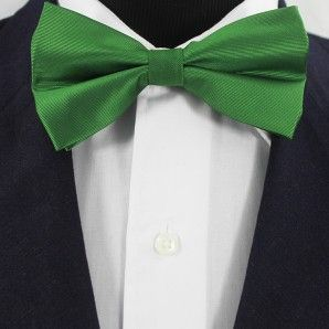 Spring Green Bow Tie Set / Wedding Bow Tie Set.