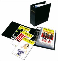 The ultimate Playbill binder: archival quality storage for contemporary Playbills