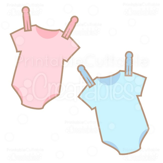 Sweet Baby Onesies SVG Cuts & Clipart