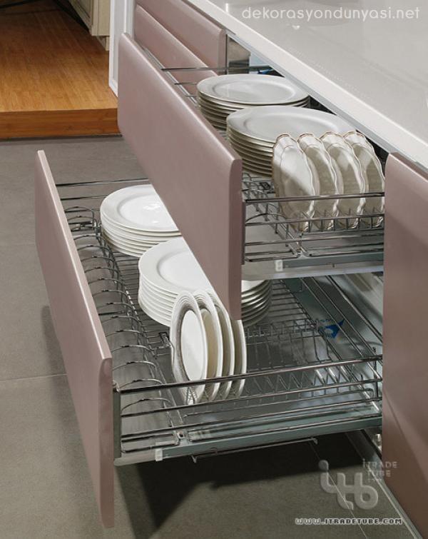 kullanışlı modern mutfaklar