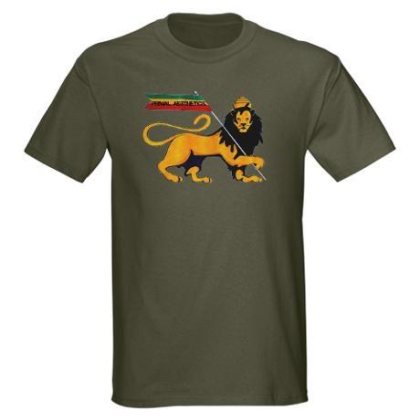 Primal Lion of Judah T-Shirt