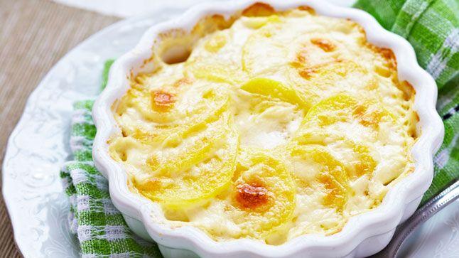Gratin décadent aux légumes et à la pomme de terre