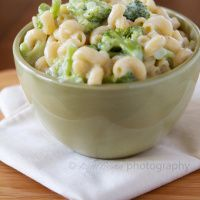 Broccoli and White Cheddar Mac & Cheese | The Craving Chronicles