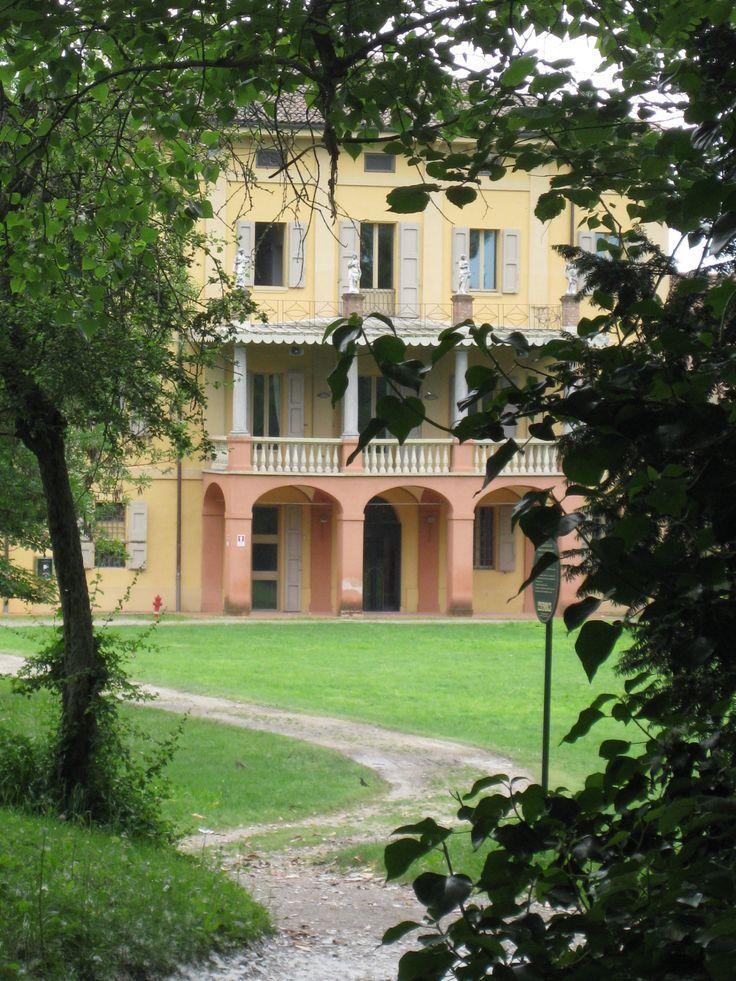 Villa Smeraldi, Museo della civiltà contadina San Marino di Bentivoglio (BO) - Veduta lato posteriore della Villa.