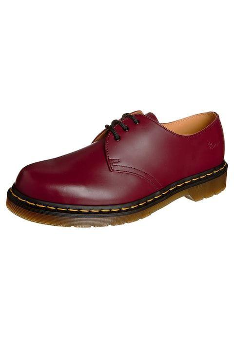 Dr. Martens 1461- 3 EYE SHOE - Stringate sportive - cherry red - Zalando 4f8606da5e2