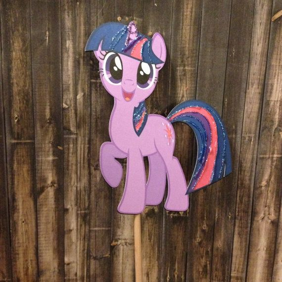My Little Pony Centerpiece Twilight Sparkle by KimaPaperCrafts