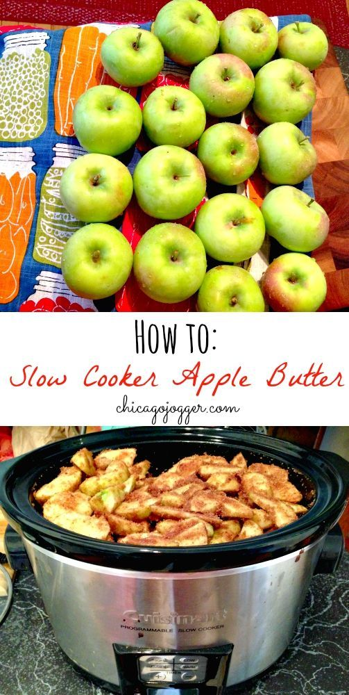 How to: Slow Cooker Apple Butter - 5 easy steps! | chicagojogger.com
