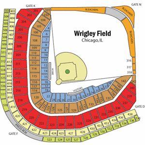 2 Chicago Cubs vs. St Louis Cardinals Tickets Wrigley SAT 7/22/17 SEC 224 ROW 17 | eBay