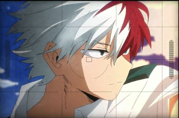 Model Todoroki In 2020 Anime Anime Characters Art