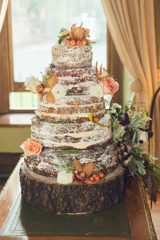 Naked Cake {Cake by Sugar} - For all your cake decorating supplies, please visit craftcompany.co.uk