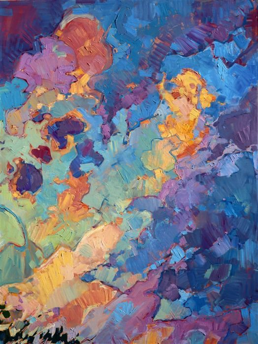 California Sky - Contemporary Impressionism   Landscape Oil Paintings for Sale by Erin Hanson