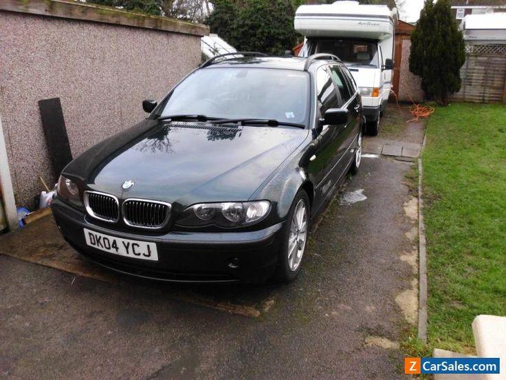 BMW 330d touring Black M-sport leather low milage #bmw #330 #forsale #unitedkingdom
