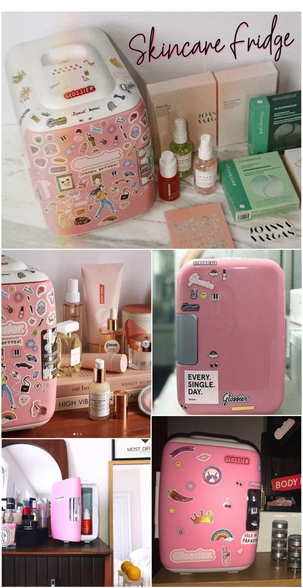 Tendência de beleza: Mini geladeira pra armazenar seus produtos de skincare