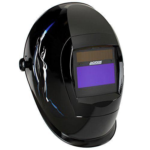 Cheap Jackson Safety SmarTIGer Variable Auto Darkening (ADF) Welding Helmet with Balder Technology Torch Dancer Graphic deals week