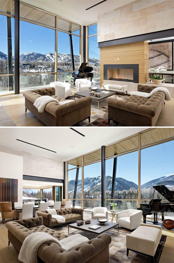 Willoughby Way By Charles Cunniffe Architects: 720 Willoughby Way, Aspen, CO 81612 In 2019