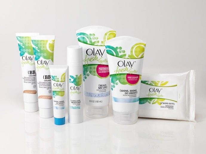 Olay Fresh Effects Skincare Products
