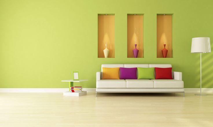Comparte un ambiente acogedor con la alegría del color.