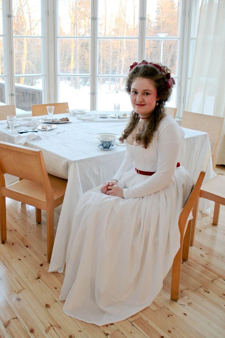 Rococo Atelier: My second robe en chemise