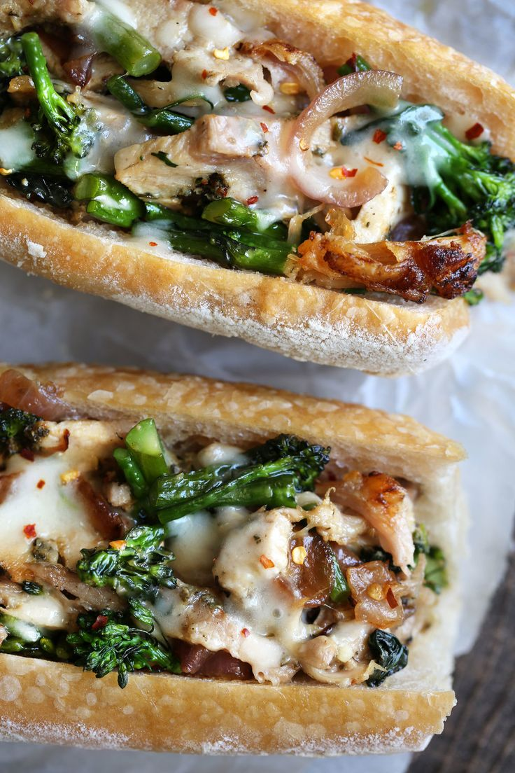 Porchetta Melts from cookingwithcocktailrings.com #sandwich #recipes