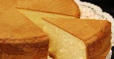 Receta de Bizcochuelo casero de limon, super esponjoso y facil. Como hacer un Bizcochuelo casero de limon esponjoso. Bizcochuelo casero de limon, muy facil de hacer y esponjoso.