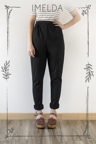 Cœur de Loup -  Pantalon Imelda disponible sur mesure (plusieurs couleurs offertes) - prix régulier 100,00$