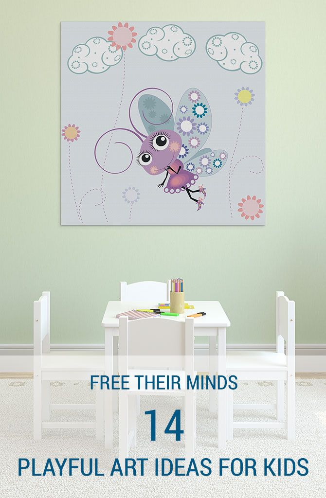 Finding art for kids should be a fun, entertaining experience. It's all about freeing your mind and theirs. Want to play? Let's get started. #wallartprints #art #ideas #kids