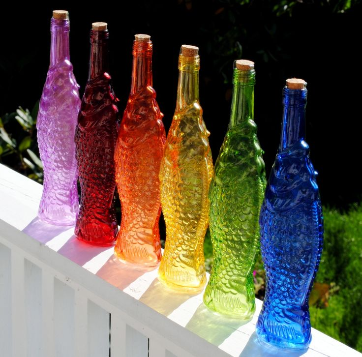 Decorative Colored Glass Bottles Impressive Home Decor Colored Glass Bottles  Home Decor Decorating Inspiration