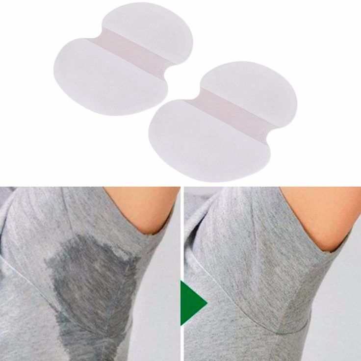 10 Pairs Useful Absorbing Underarm Sweat Pads Armpit Deodorant Sheet Clothes Shield Pads Health Beauty
