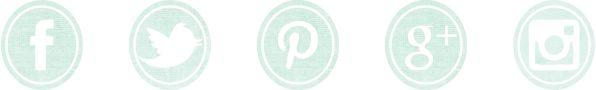 ¡Iconos de redes sociales de colores en descarga gratuita para tu blog :)