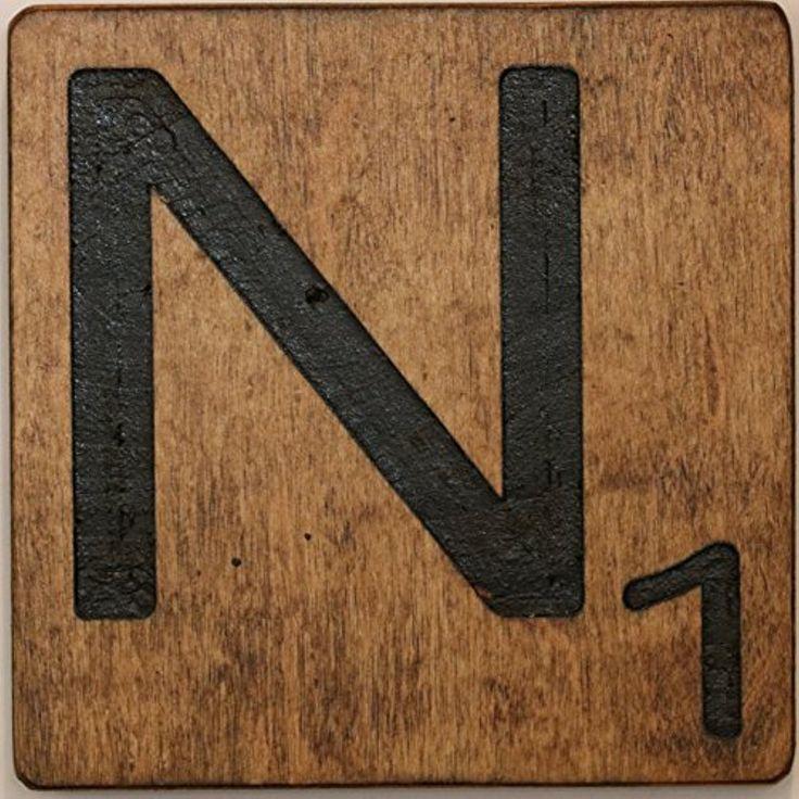 Large scrabble letter tile 8 x 8 medium n want to