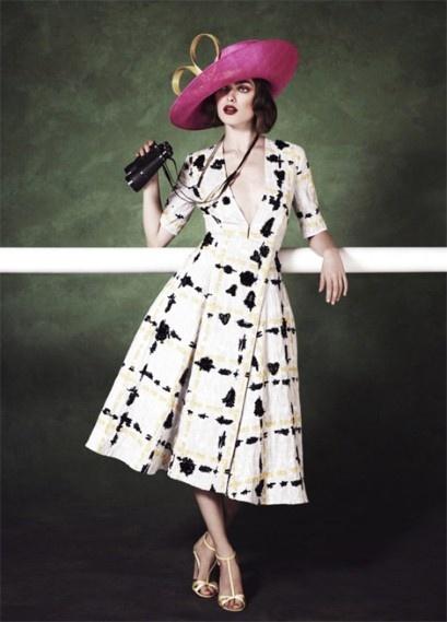 Royal Ascot - pink hat