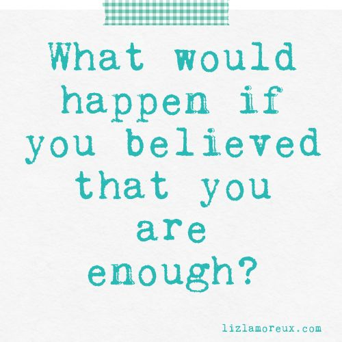 What would happen? (Try this idea on today.) :: Click through for a post all abo