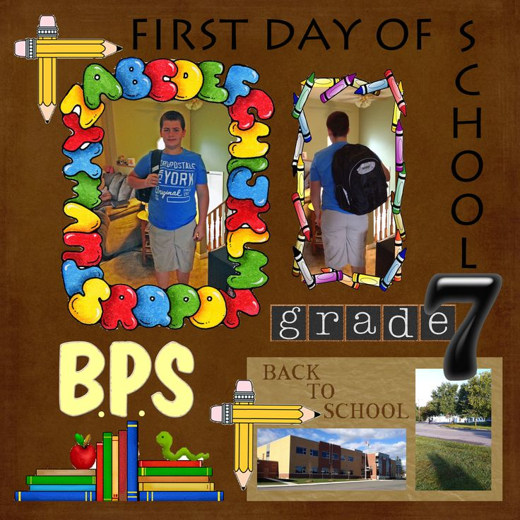 1st day of grade 7