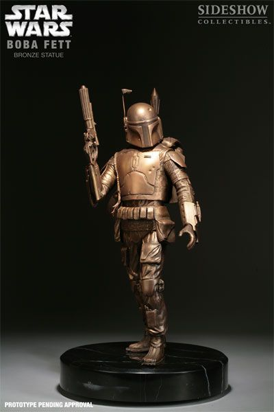Bronze Boba Fett from Sideshow Collectibles! @Cassandra Dowman Dowman Knight