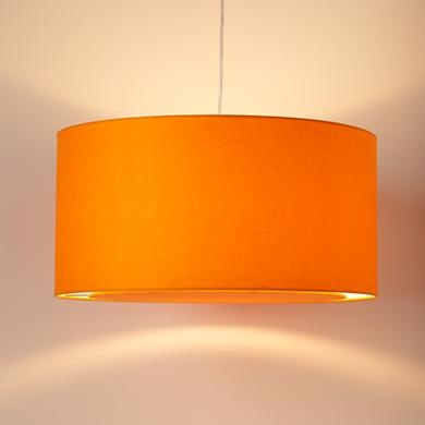 Like this drum shade as a possibility for the nursery...comes in all kinds of pretty colors!