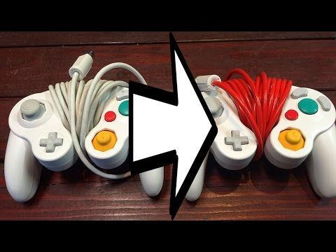 How to: Paint your Gamecube Controller Cable
