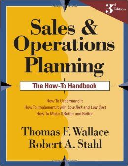 What are the steps involved in the Sales and Operations Planning #S&OP, process?  Find out right here.