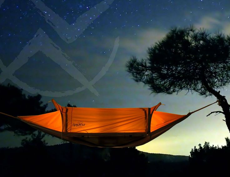 Introducing the Flying Tent All in One Camping System.