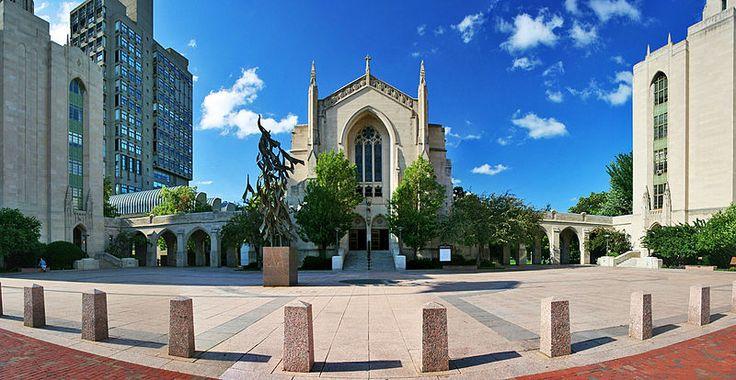A panorama of Marsh Plaza at Boston University. http://www.payscale.com/research/US/School=Boston_University/Salary