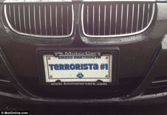 Owners of 'Terrorista #1' BMW taken into custody over Boston bombings AGAIN: Feds arrest two men 'who were friends with suspect for immigration violation'