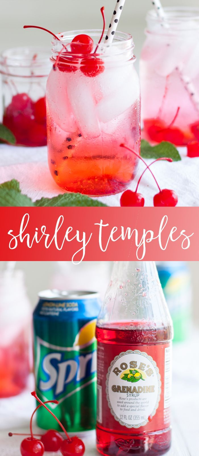 Shirley Temple Recipe | kid friendly drink recipes | easy drink recipes | summer drink recipes || Oh So Delicioso #recipes #drinks #drinkrecipe #shirleytemple #summer #summerdrink #summerrecipe