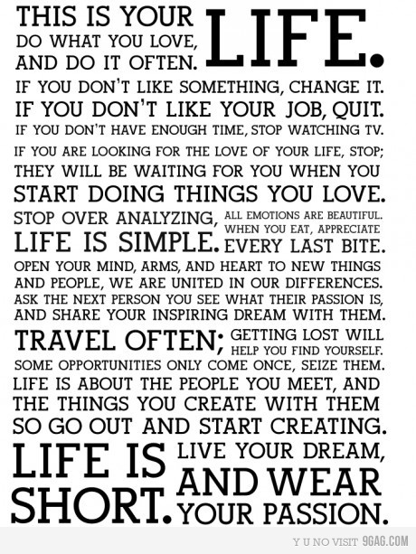 Live Life. Love Life.