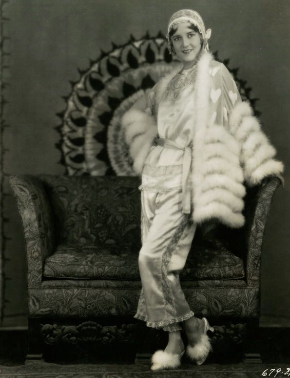 Ruth Taylor in her Pajamas, c.1928, by Eugene Robert Richee