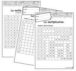 Numération, opérations - (page 2) - Dix mois