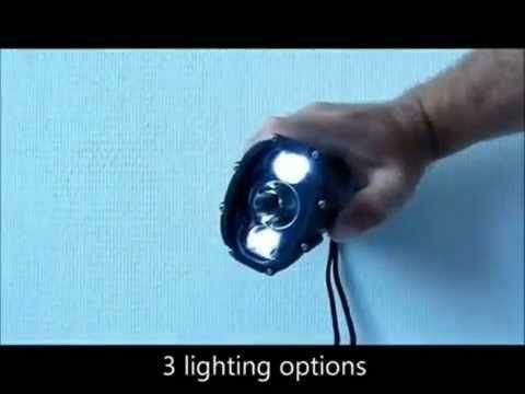 """[La sélec] L'impressionnante lampe Dynamo Shark : ETANCHE et """"INCASSABLE"""" - 39 € - Guide de survie"""